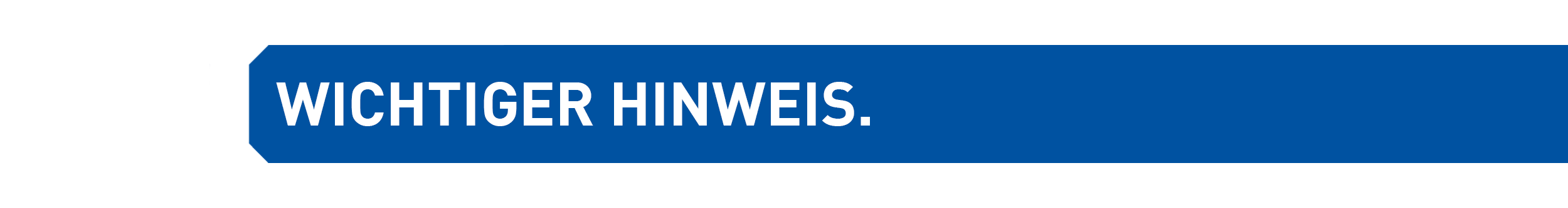 WICHTIGERHINWEIS
